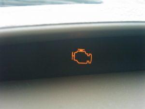 エンジン警告灯の画像