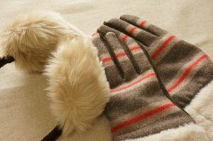 冬支度の画像