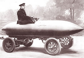 世界の元祖電気自動車