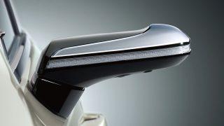 レクサスに日本初の電子ドアミラー!サイドミラーレスのメリットとデメリットは?