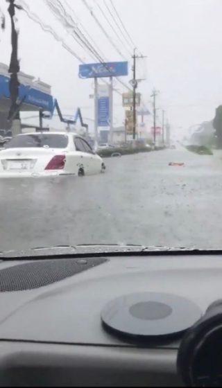 車が水没!修理は出来るのか?ゲリラ豪雨多発であなたの車は大丈夫?