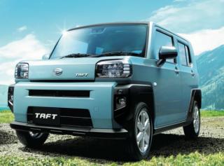 ダイハツ新型タフト!個性的なデザインと内装で新たな軽SUVが発売!